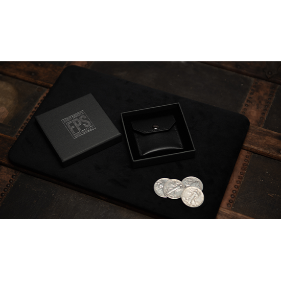 FPS Coin Wallet Black (Gimmicks and Online Instructions) by Magic Firm - Goocheltruc